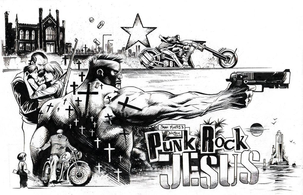 "Graphic Novel Review of ""Punk Rock Jesus"" by Sean Gordon Murphy"