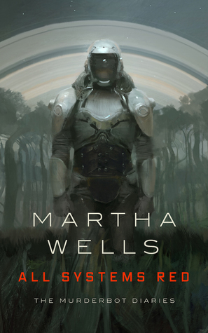 A Terrible Killing Machine Failure in All Systems Red by Martha Wells