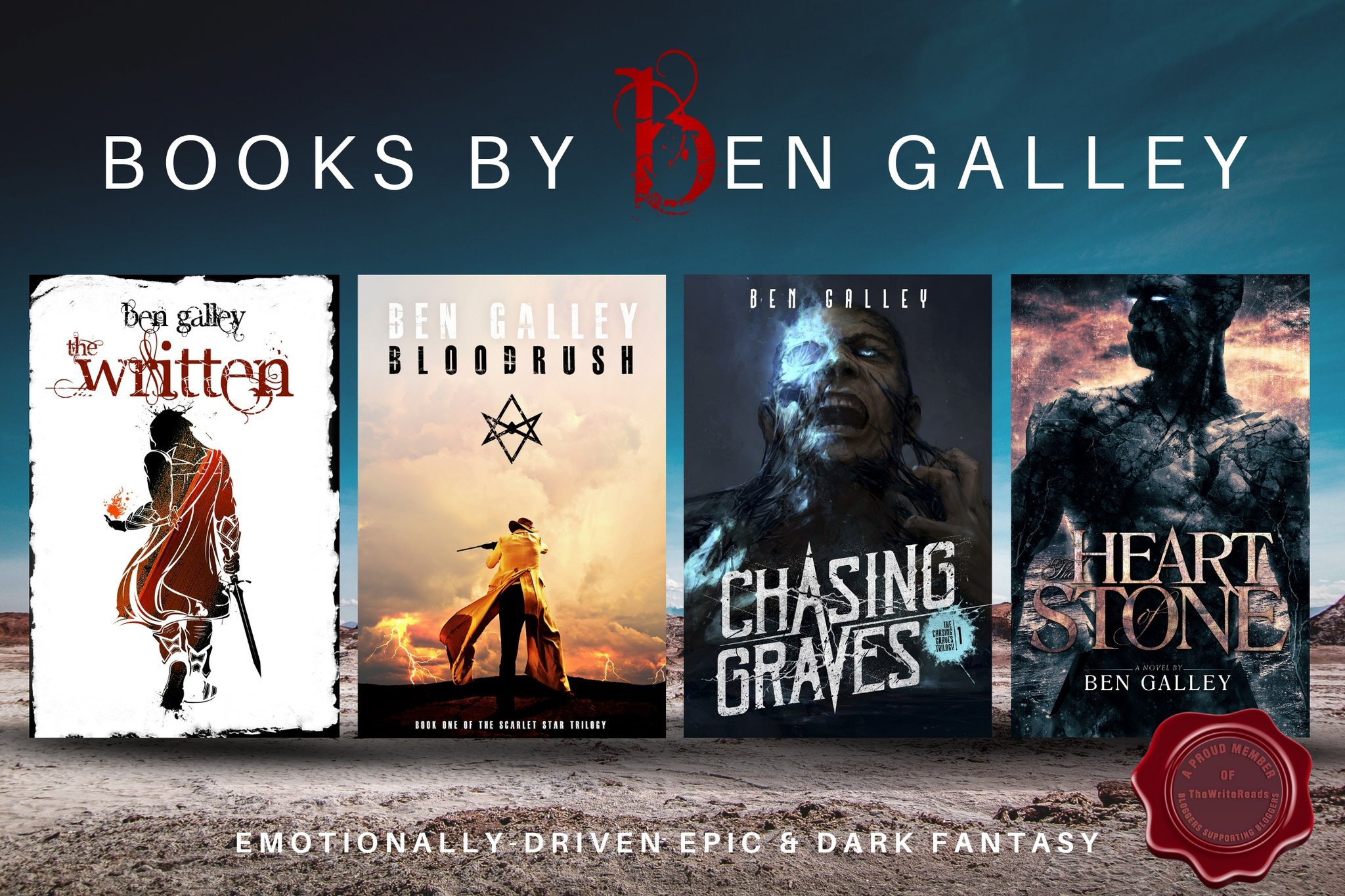 Interview with Ben Galley – Author of Chasing Graves