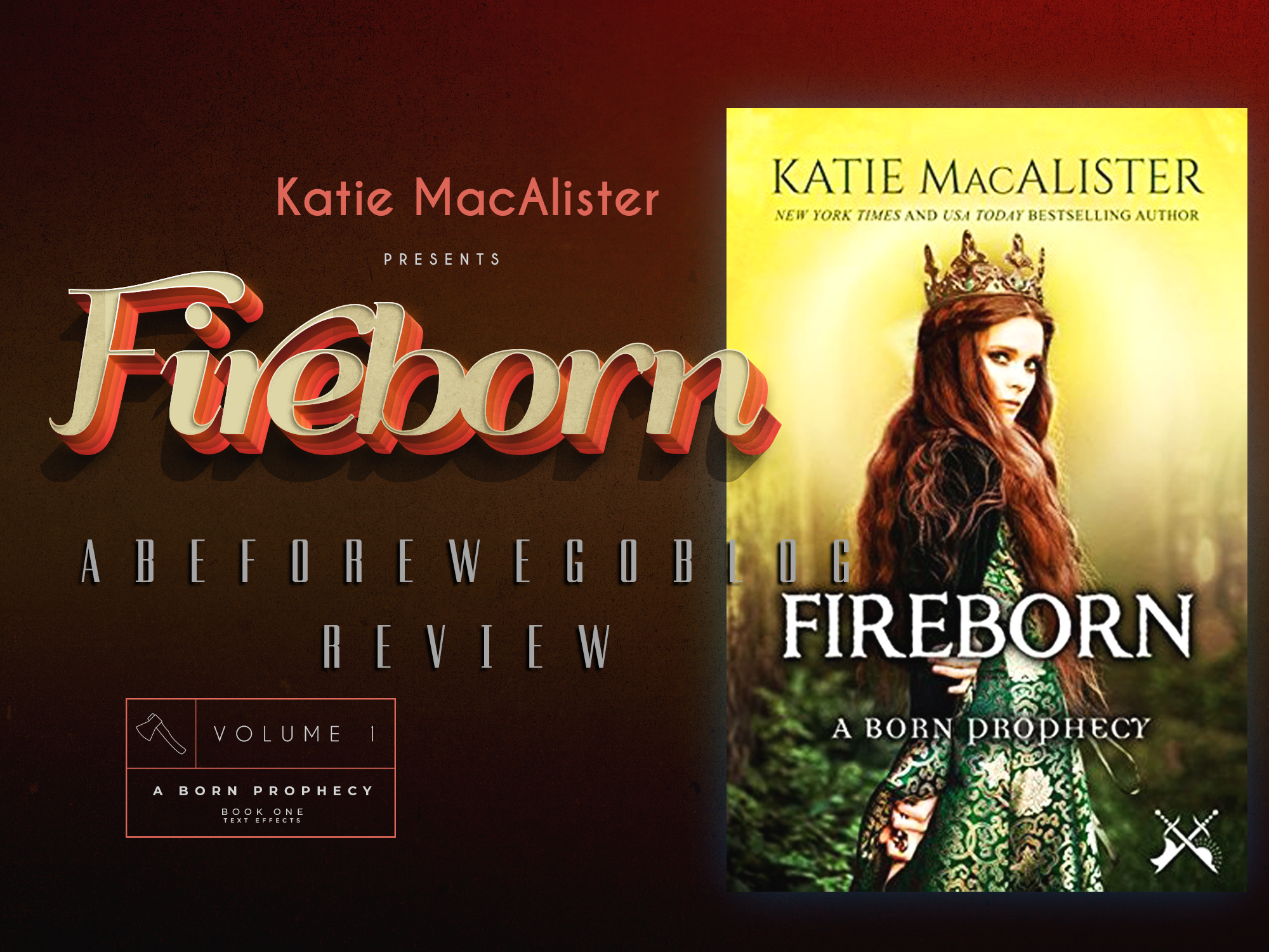 Review of Fireborn by Katie MacAlister