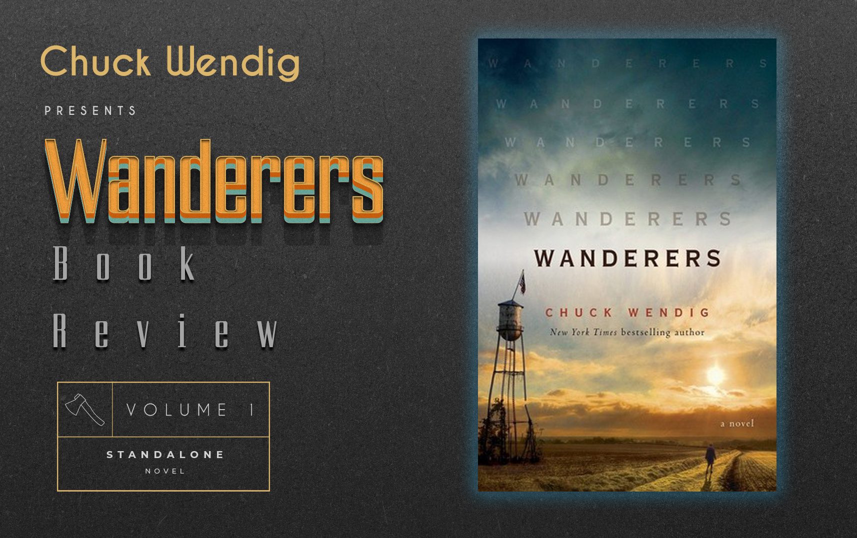 Review of Wanderers by Chuck Wendig