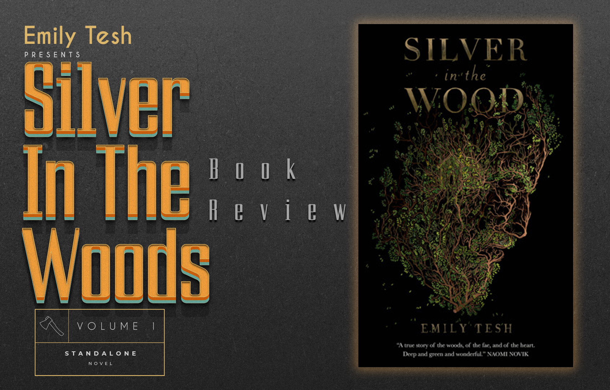 Review of Silver in The Wood by Emily Tesh