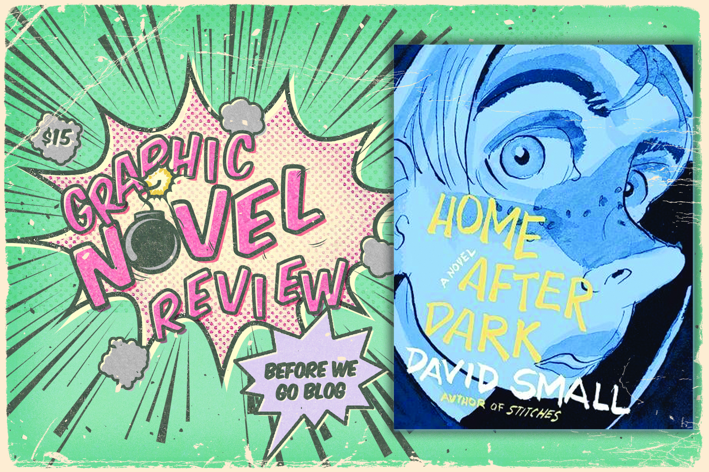Graphic Novel Review of Home After Dark by David Small