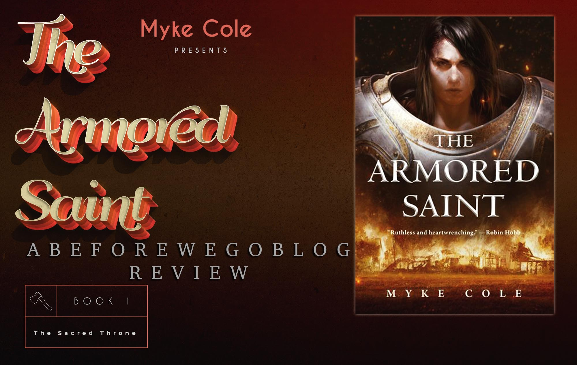 Review of The Armored Saint by Myke Cole