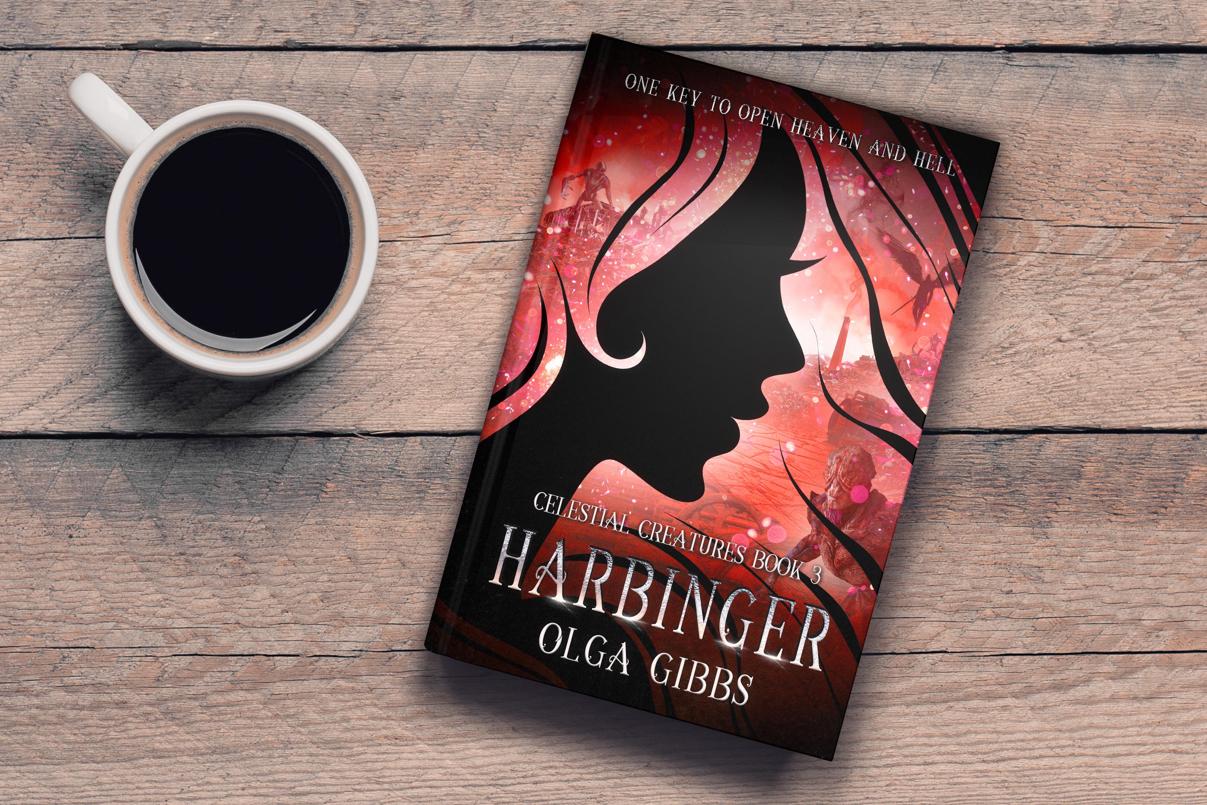 Harbinger Cover Reveal by Author Olga Gibbs –  December 1st 2019