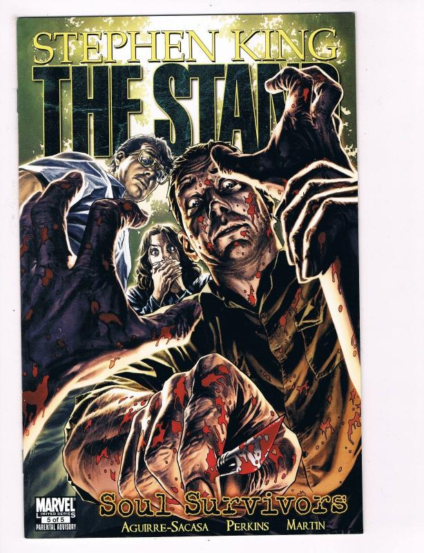A Review of The Stand: Soul Survivors (The Stand: Graphic Novels #3) by Roberto Aguirre-Sacasa (Adaptor), Mike Perkins (Illustrator), Laura Martin (Illustrator), Stephen King (Story)