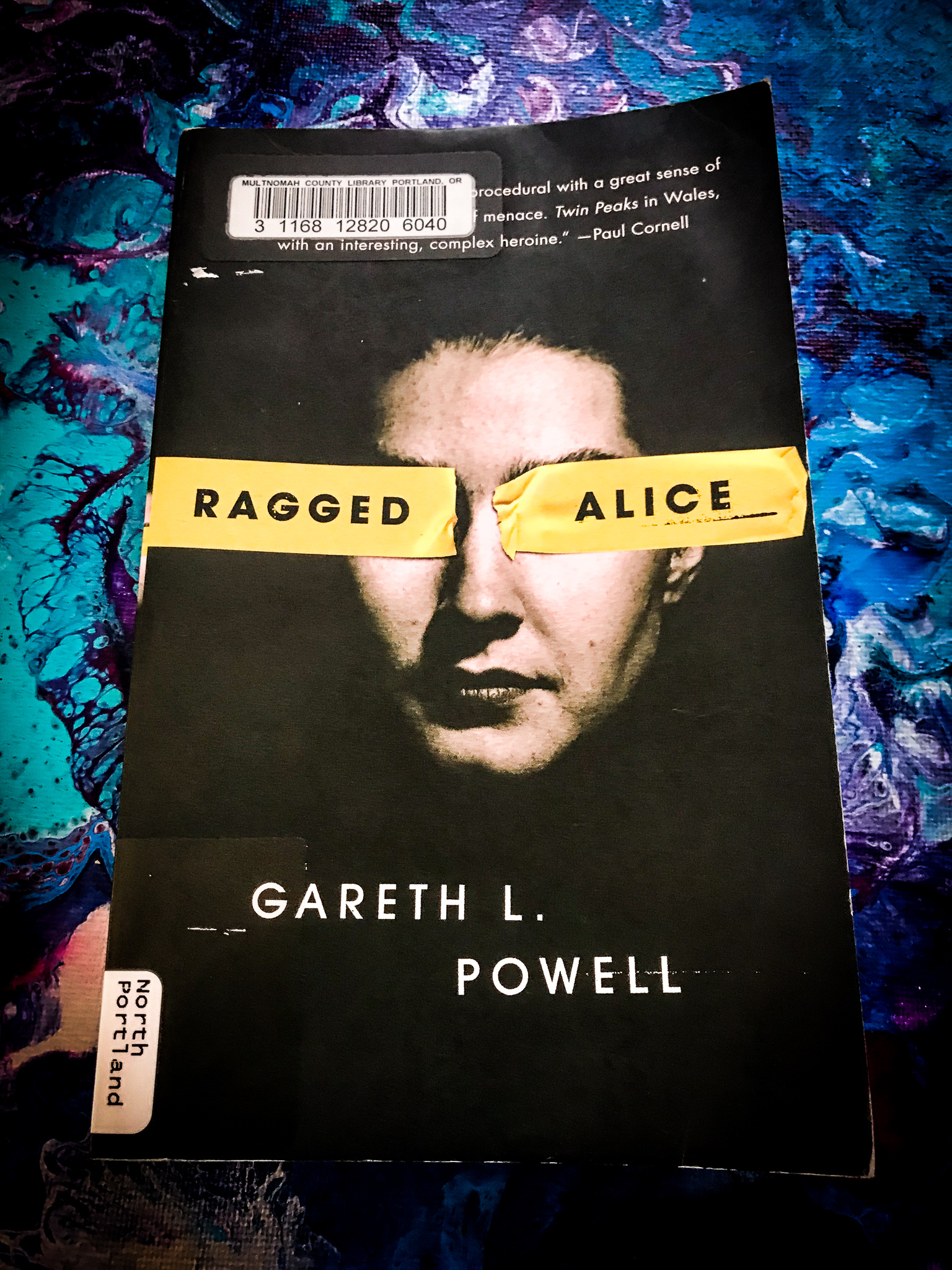 Review of Ragged Alice by Gareth L. Powell