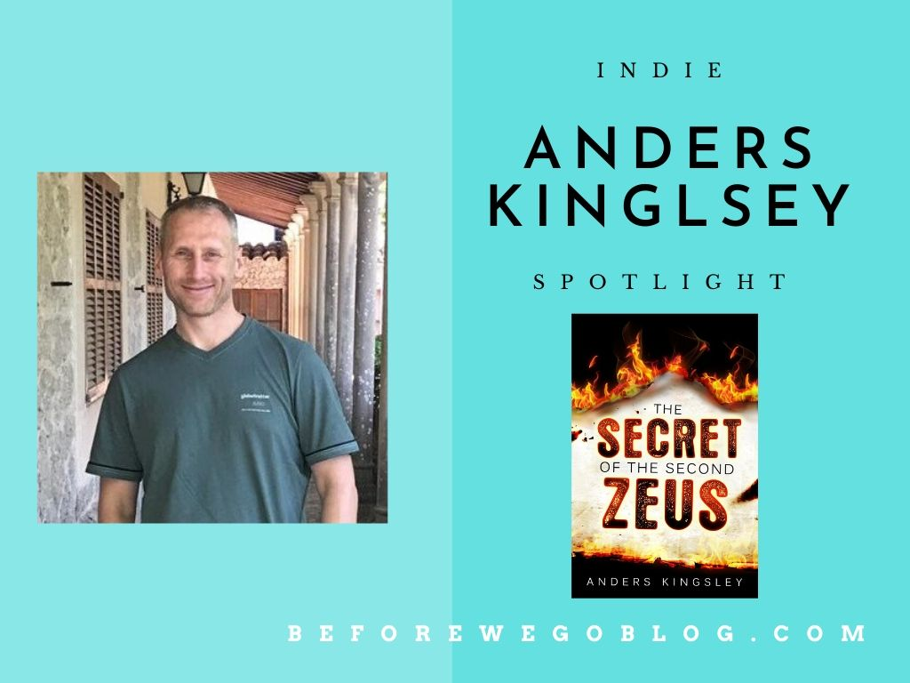 #indiespotlight of Anders Kingsley, author of The Secret of the Second Zeus