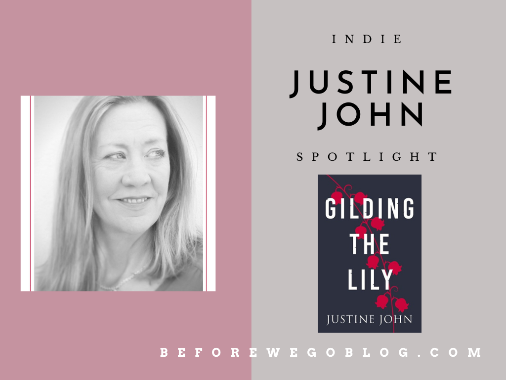 #indiespotlight of Justine John, Author of Gilding the Lily