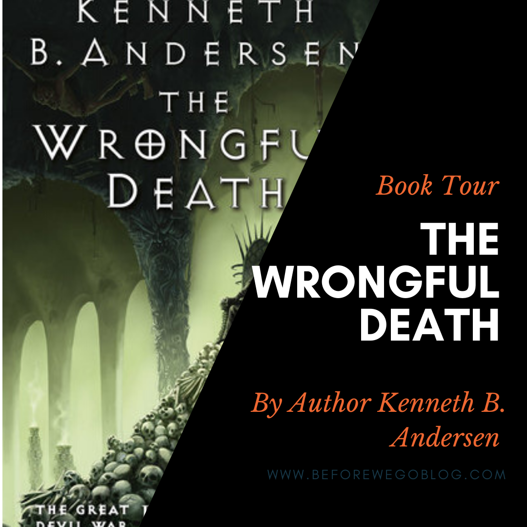 Blog Tour – The Wrongful Death by Kenneth B. Andersen