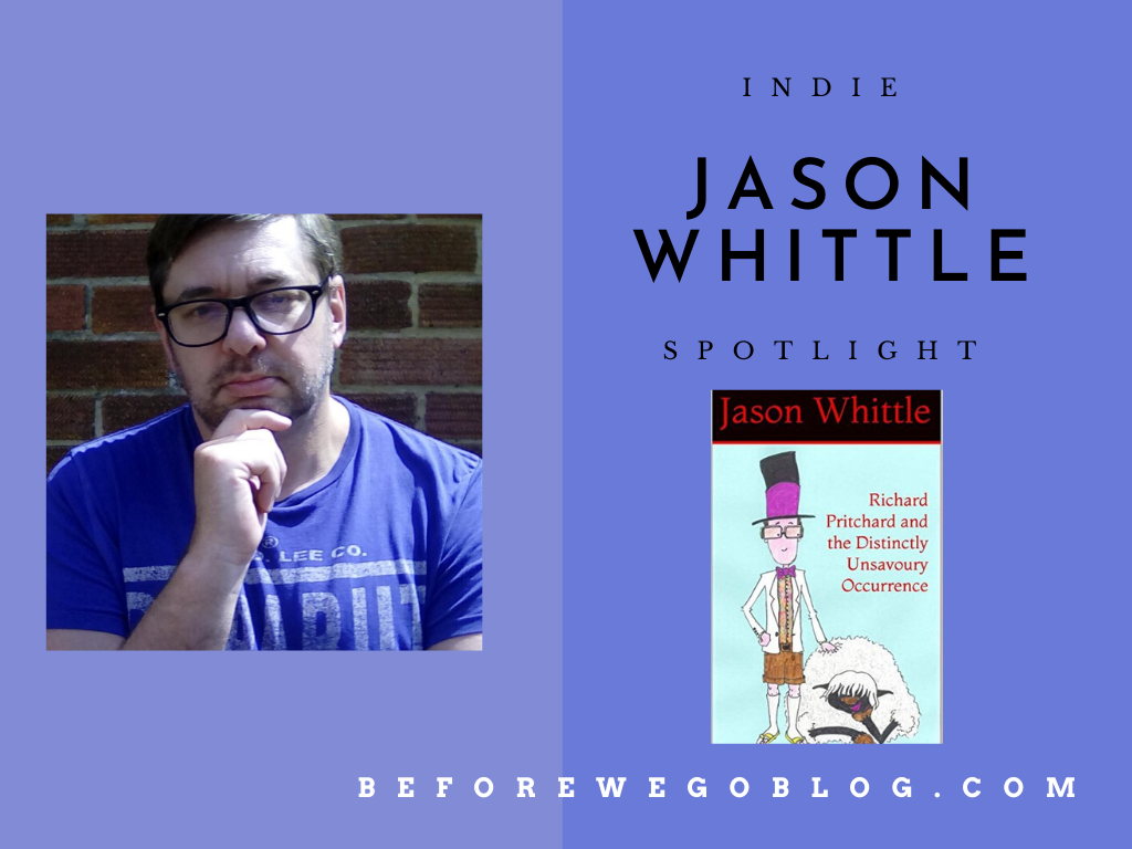 #indiespotlight of Horror, Crime, and Fantasy Author Jason Whittle