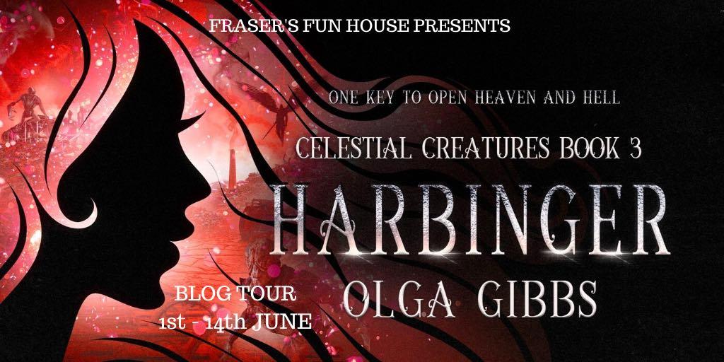 Tour – Excerpt from Harbinger (Celestial Creatures #3) by Olga Gibbs