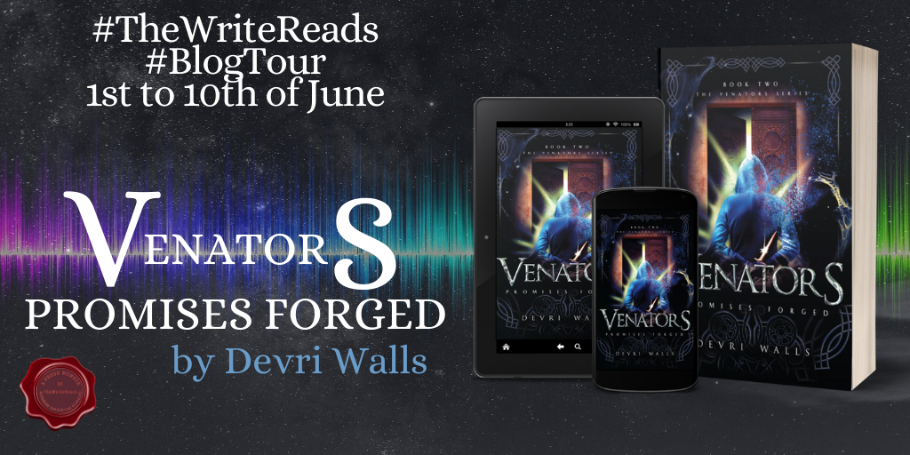 Book Spotlight – Venators Promises Forged by Devri Walls
