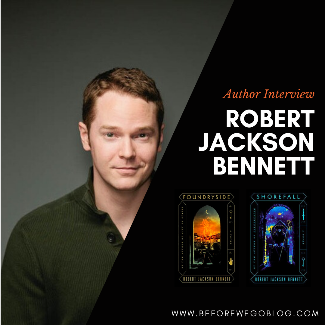 Interview With Robert Jackson Bennett