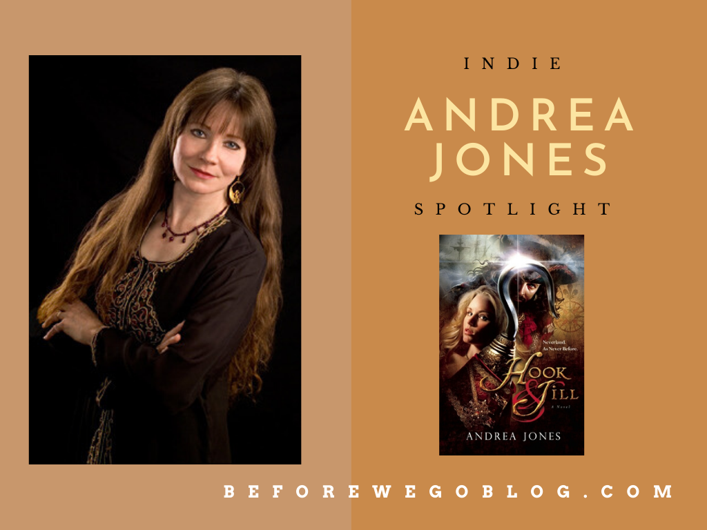 #IndieSpotlight – Andrea Jones, Author of the Hook & Jill Saga