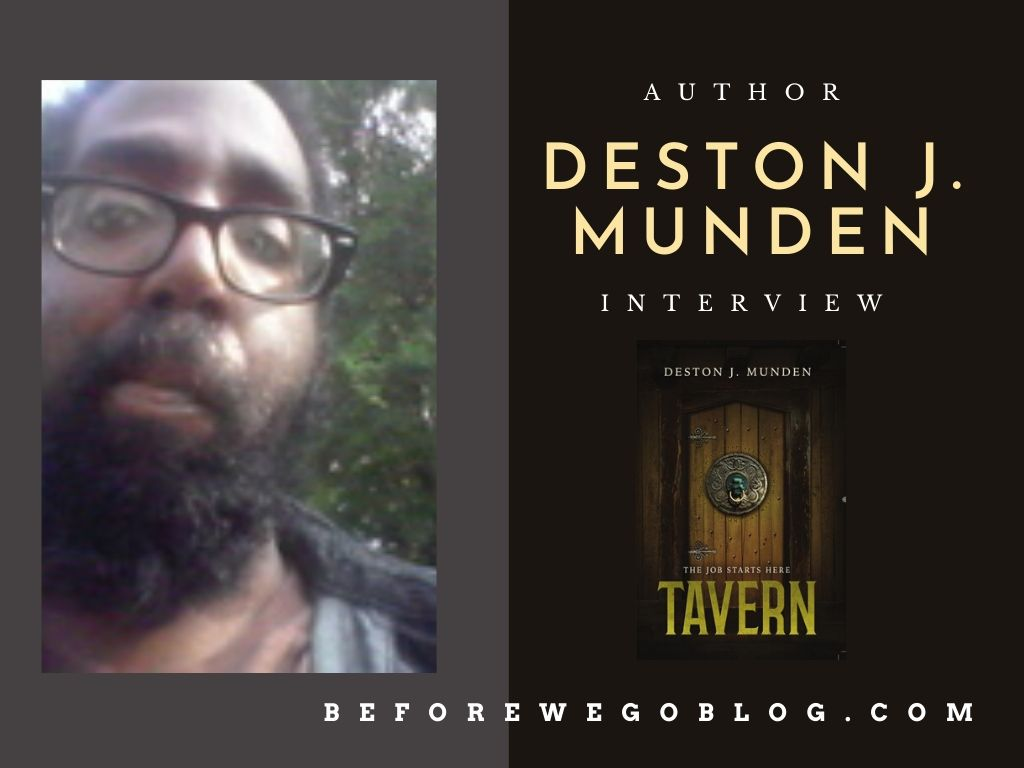 Interview with Author Deston J. Munden by Ryan Howse