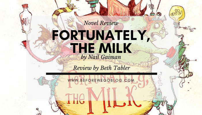 Short Story – Fortunately, the Milk by Neil Gaiman,  Skottie Young