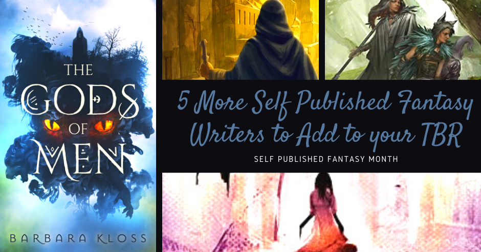5 More of the Best Self Published Fantasy Writers to Add to Your TBR