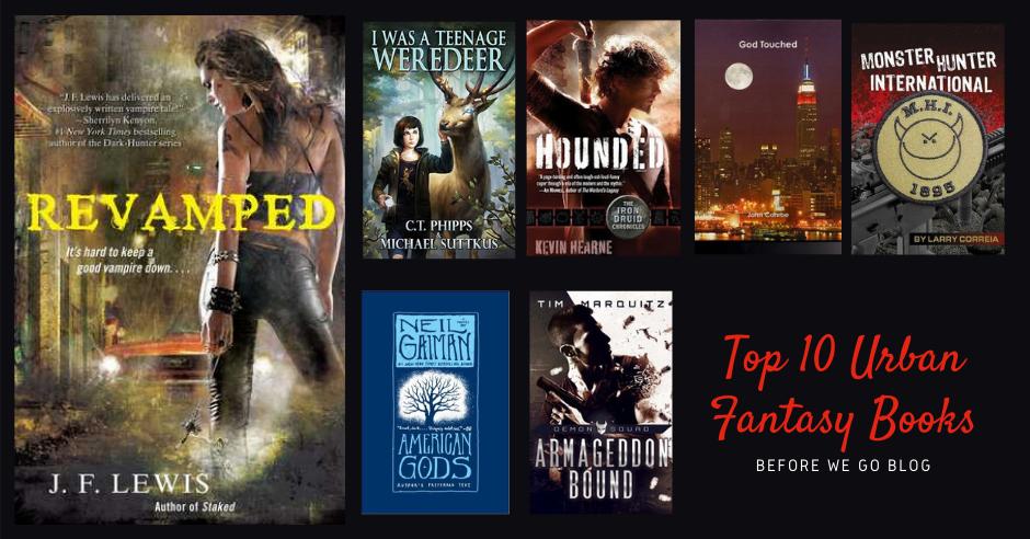 Top 10 Urban Fantasy Series