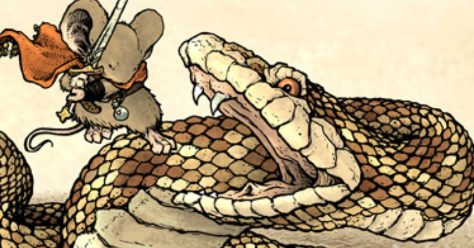 Review – You Should Play Mouse Guard by David Petersen